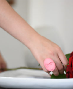 in love anello rosa Emotions Rosa rosse